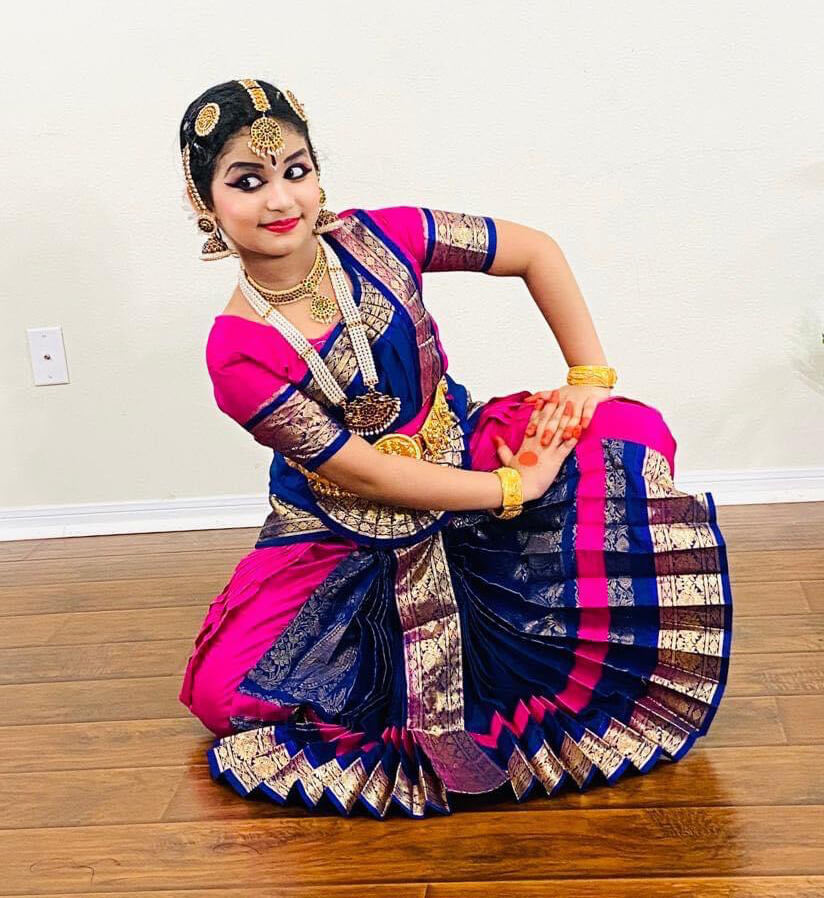 Ardra performing Indian classical dance - Artists Spotlight series