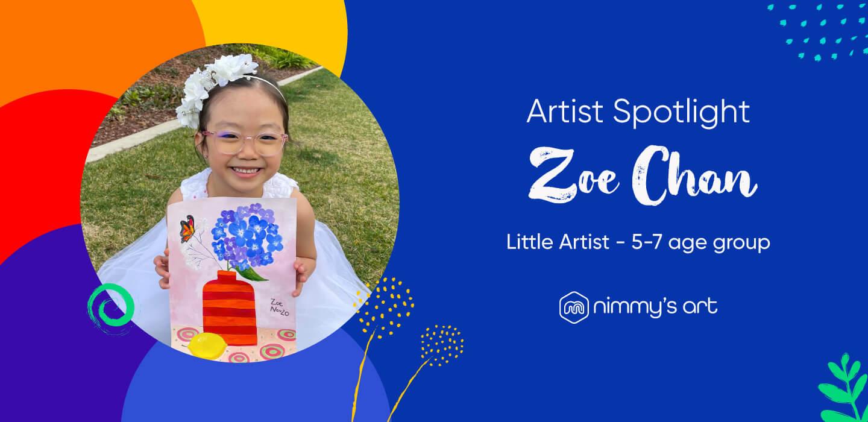 Zoe Chan in Artist Spotlight at Nimmy's Art