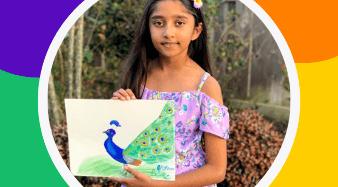 Young Artist Prisha in Artist Spotlight